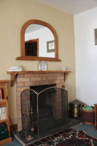 Seagate Cottage Fireplace